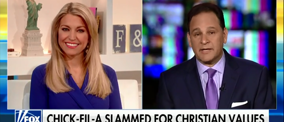 CBN's David Broody Calls Out Media For Slamming Chick-Fil-A As 'Creepy' - Fox & Friends 4-16-18 (Screenshot/Fox News)
