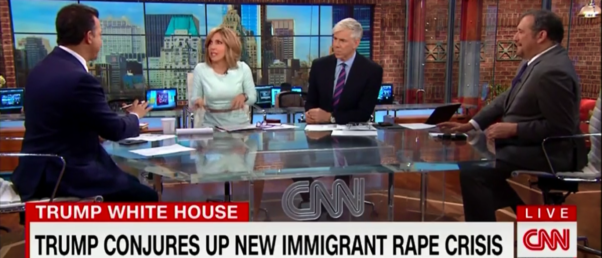 CNN Forced To Agree With Trump About Rape Among Migrants 'It's A Real Problem' - New Day 4-6-18