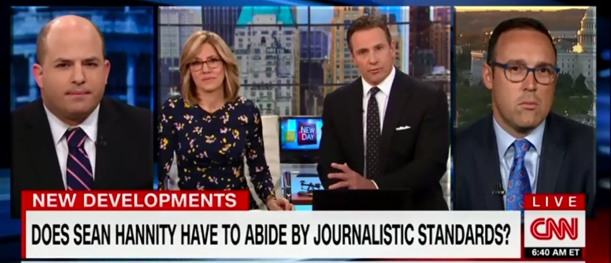 CNN's Alisyn Camerota And Brian Stelter Give Lessons On How To Be An Ethical Journalist - New Day 4-17-18 (Screenshot/CNN)