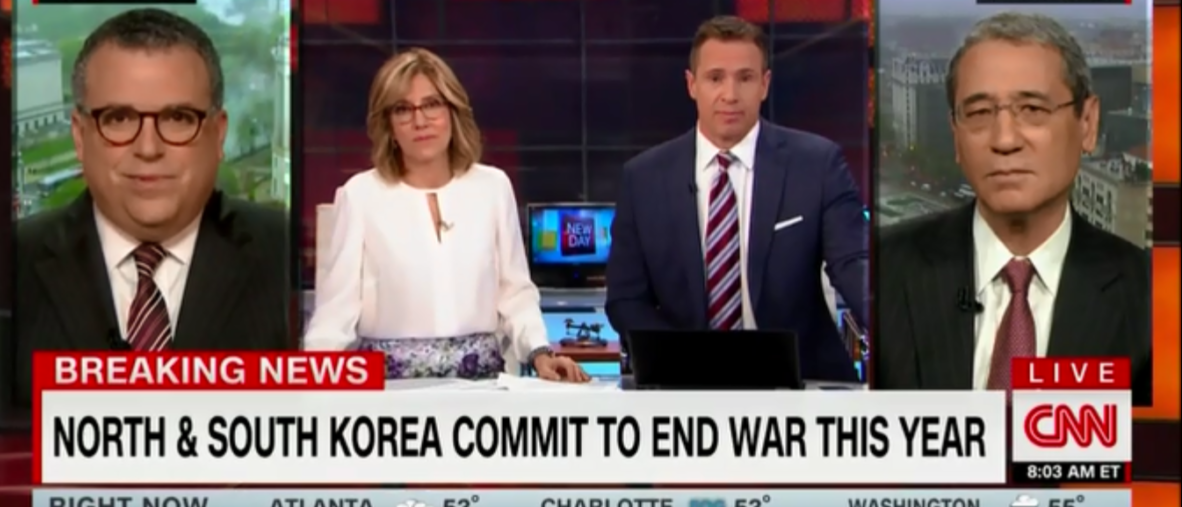 CNN's Chris Cuomo Thinks Trump Could Win The Nobel Peace Prize For North Korea Efforts Obama Got One For A Lot Less - 4-27-18
