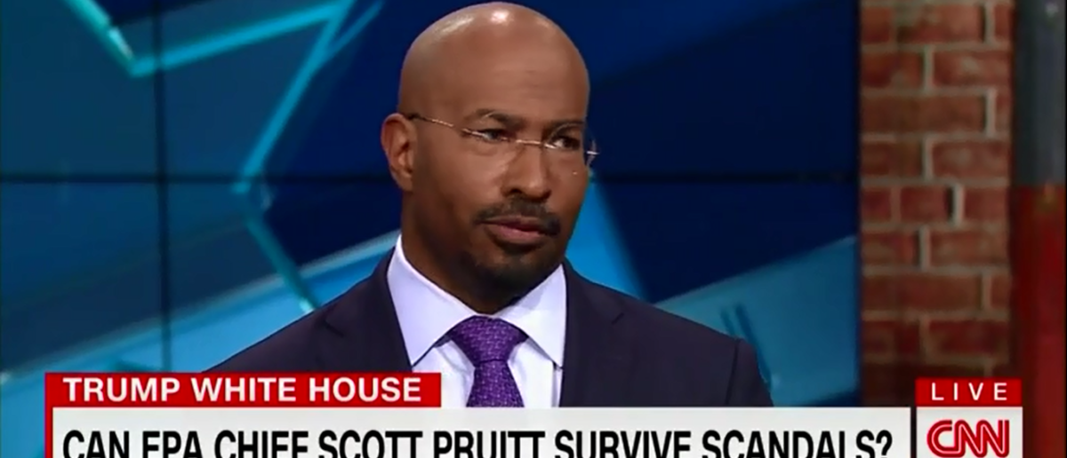 CNN's Van Jones Takes Bizarre Jab At Scott Pruitt And Accuses Him Of Wanting To Make America 'Dirtier And Less Safe For Our Children' - New day 4-6-18 | Van Jones Takes Bizarre Jab At Pruitt