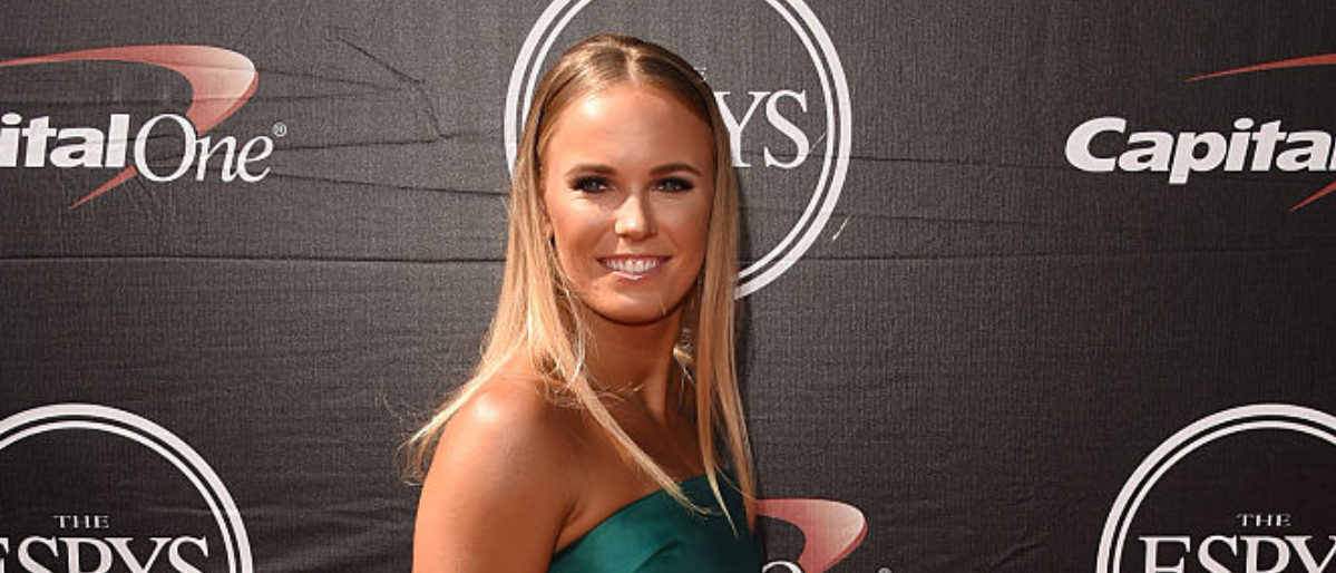 LOS ANGELES, CA - JULY 15: Tennis player Caroline Wozniacki attends The 2015 ESPYS at Microsoft Theater on July 15, 2015 in Los Angeles, California. (Photo by Jason Merritt/Getty Images)