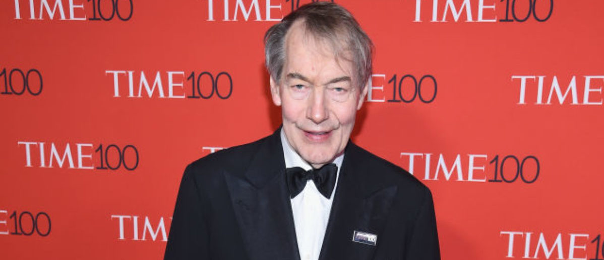 NEW YORK, NY - APRIL 25: Journalist Charlie Rose attends the 2017 Time 100 Gala at Jazz at Lincoln Center on April 25, 2017 in New York City. (Photo by Dimitrios Kambouris/Getty Images for TIME)