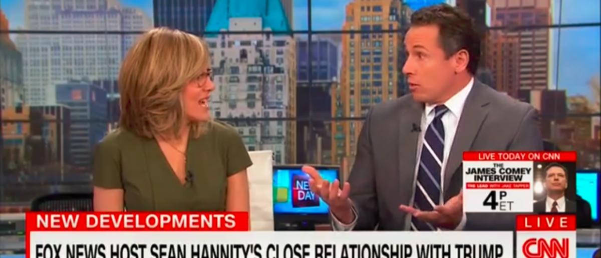 Chris Cuomo Calls Out Morning Joe On CNN's New Day (Screenshot/CNN 4-19-18)