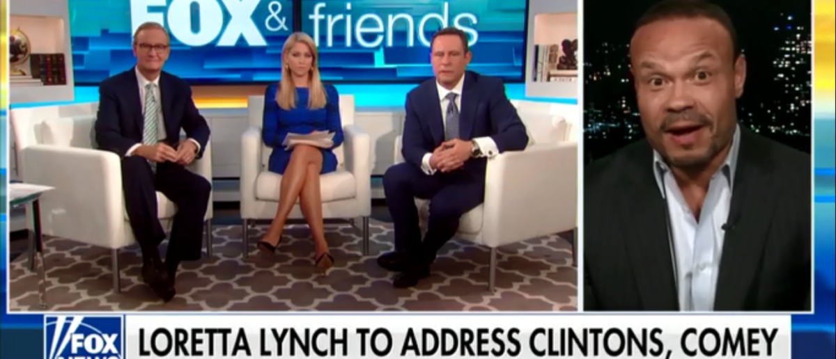 Dan Bongino Believes Loretta Lynch May Have Obstructed Justice To Bail Out Hillary Clinton - Fox & Friends 4-9-18