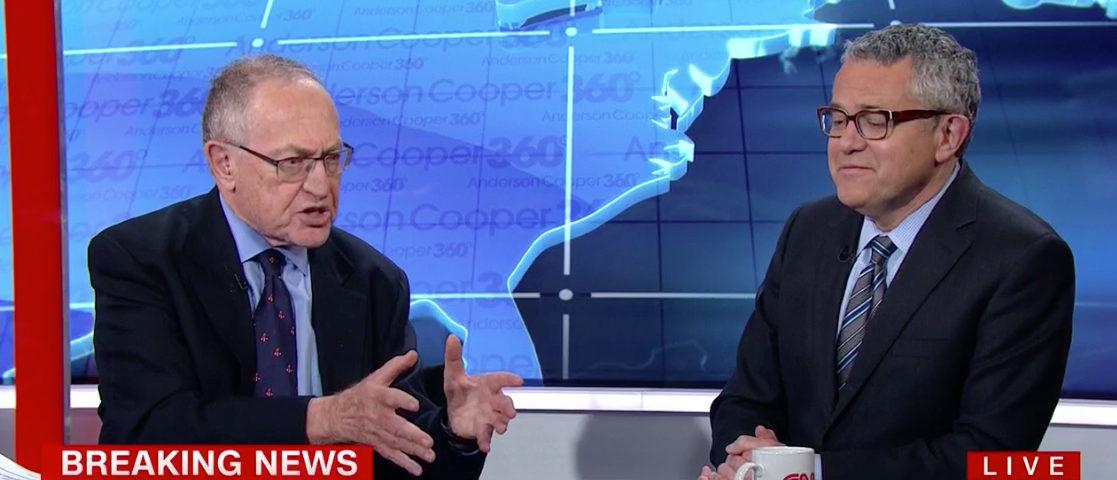 Dersh CNN screenshot