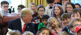 Trump Spends Time With Kids For 'Take Your Child To Work Day' [PHOTOS]