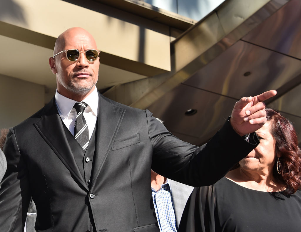 Dwayne Johnson's busy schedule is stopping him from marrying longtime girlfriend