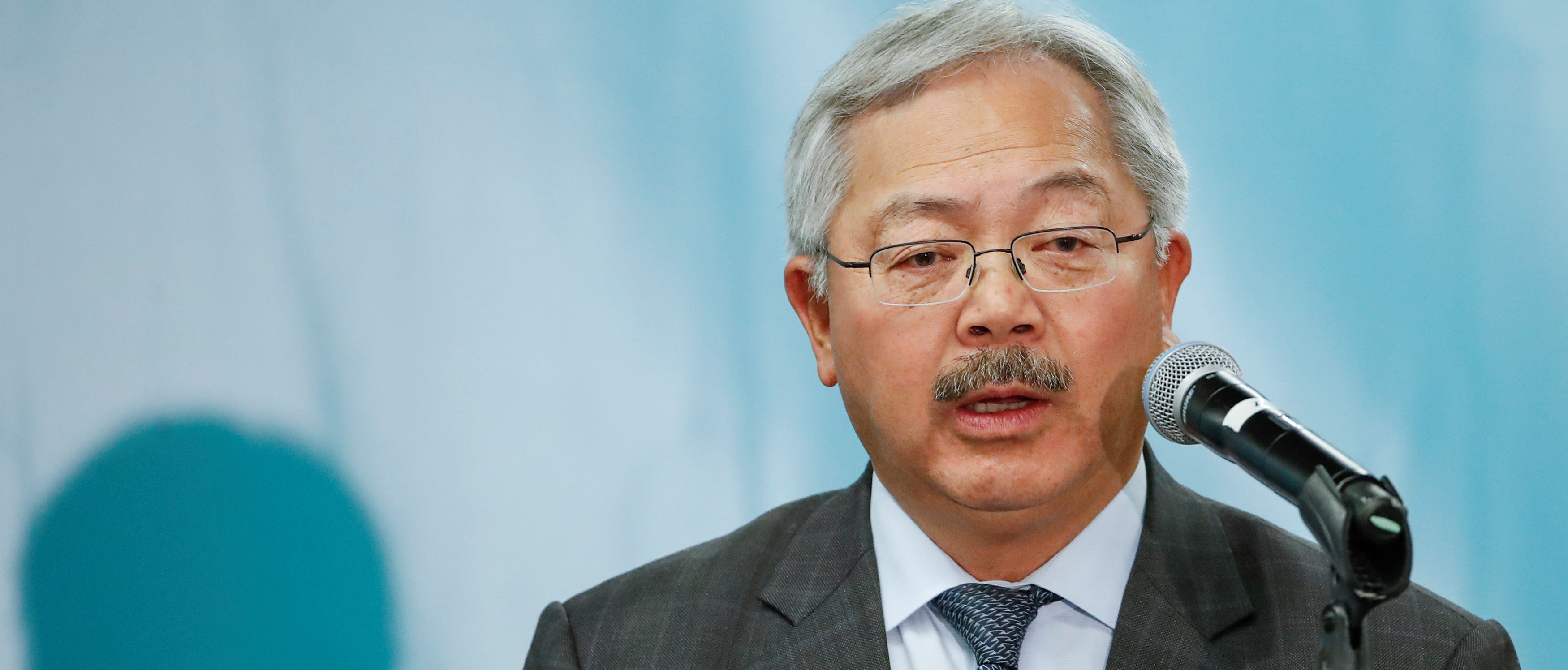 San Francisco Mayor Ed Lee speaks during the North American Climate Summit in Chicago, Illinois, U.S., December 5, 2017. Picture taken December 5, 2017. REUTERS/Kamil Krzaczynski | Climate Lawsuits Rely On Flawed Study