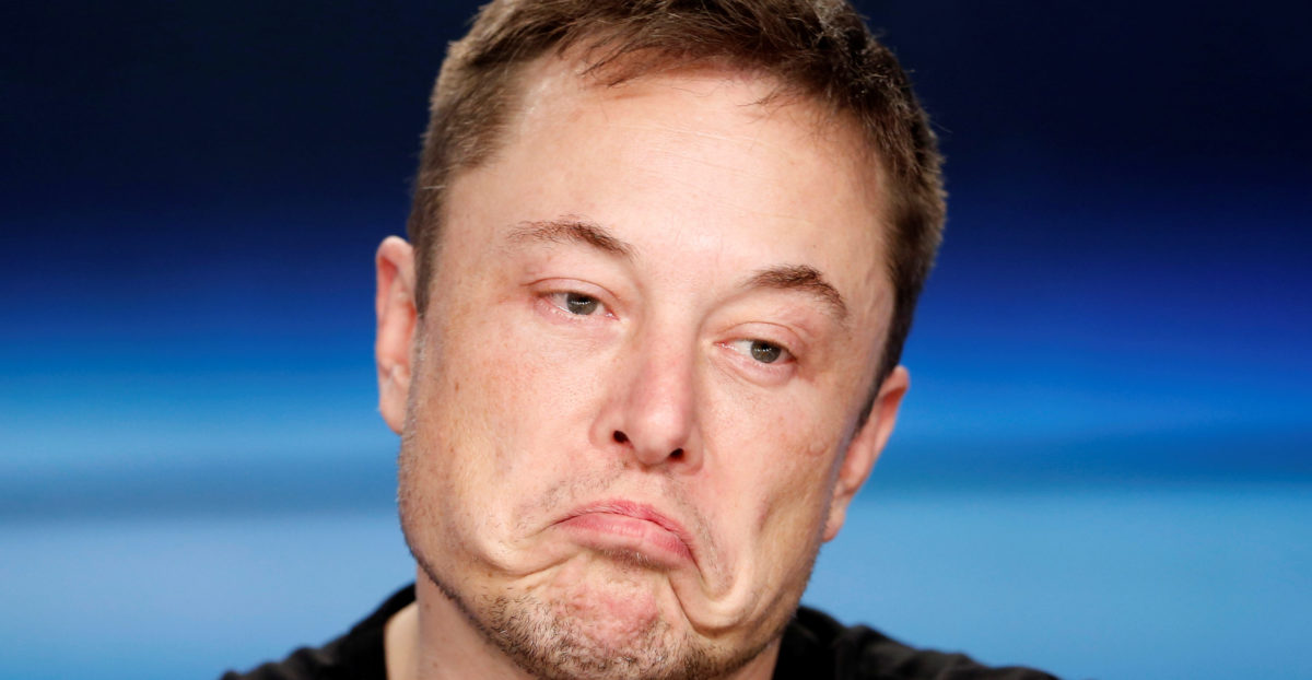 FILE PHOTO: SpaceX founder Musk at a press conference following the first launch of a SpaceX Falcon Heavy rocket in Cape Canaveral