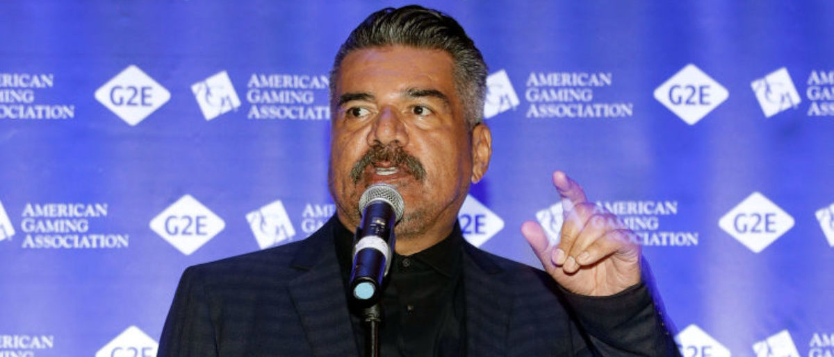 LAS VEGAS, NV - OCTOBER 03: George Lopez attends Global Gaming Expo October 3, 2017 in Las Vegas, Nevada. (Photo by Isaac Brekken/Getty Images for Global Gaming Expo)