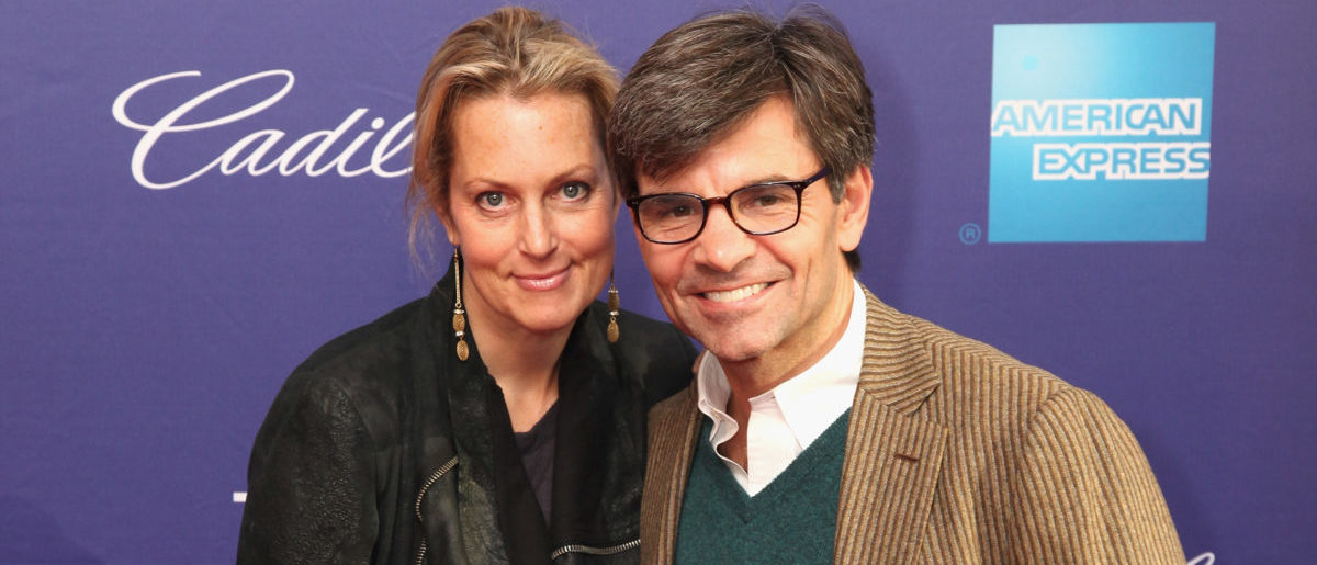 "NEW YORK, NY - APRIL 20:  (L-R)Alexandra Wentworth and George Stephanopoulos attend HBO's ""Moms Mabley: I Got Somethin' To Tell You"" premiere at Tribeca Film Festival on April 20, 2013 in New York City.  (Photo by Donald Bowers/Getty Images for HBO)"