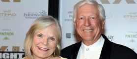 PHOENIX, AZ - MARCH 28: Lynn Friess (L) and businessman Foster Friess attend Muhammad Ali's Celebrity Fight Night XXI at the JW Marriott Phoenix Desert Ridge Resort & Spa on March 28, 2015 in Phoenix, Arizona. (Photo by Ethan Miller/Getty Images for Celebrity Fight Night)