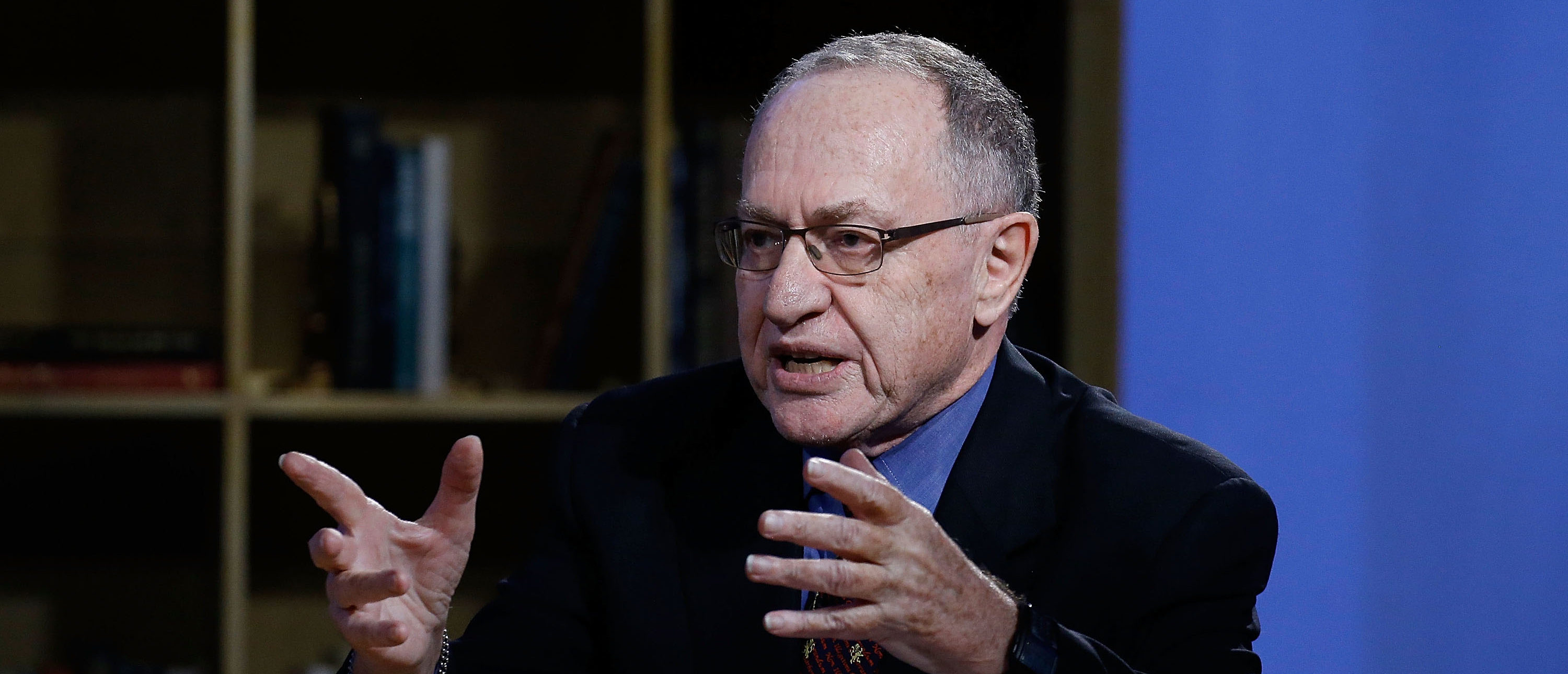 "NEW YORK, NY - FEBRUARY 03: Alan Dershowitz attends Hulu Presents ""Triumph's Election Special"" produced by Funny Or Die at NEP Studios on February 3, 2016 in New York City. (Photo by John Lamparski/Getty Images for Hulu)"