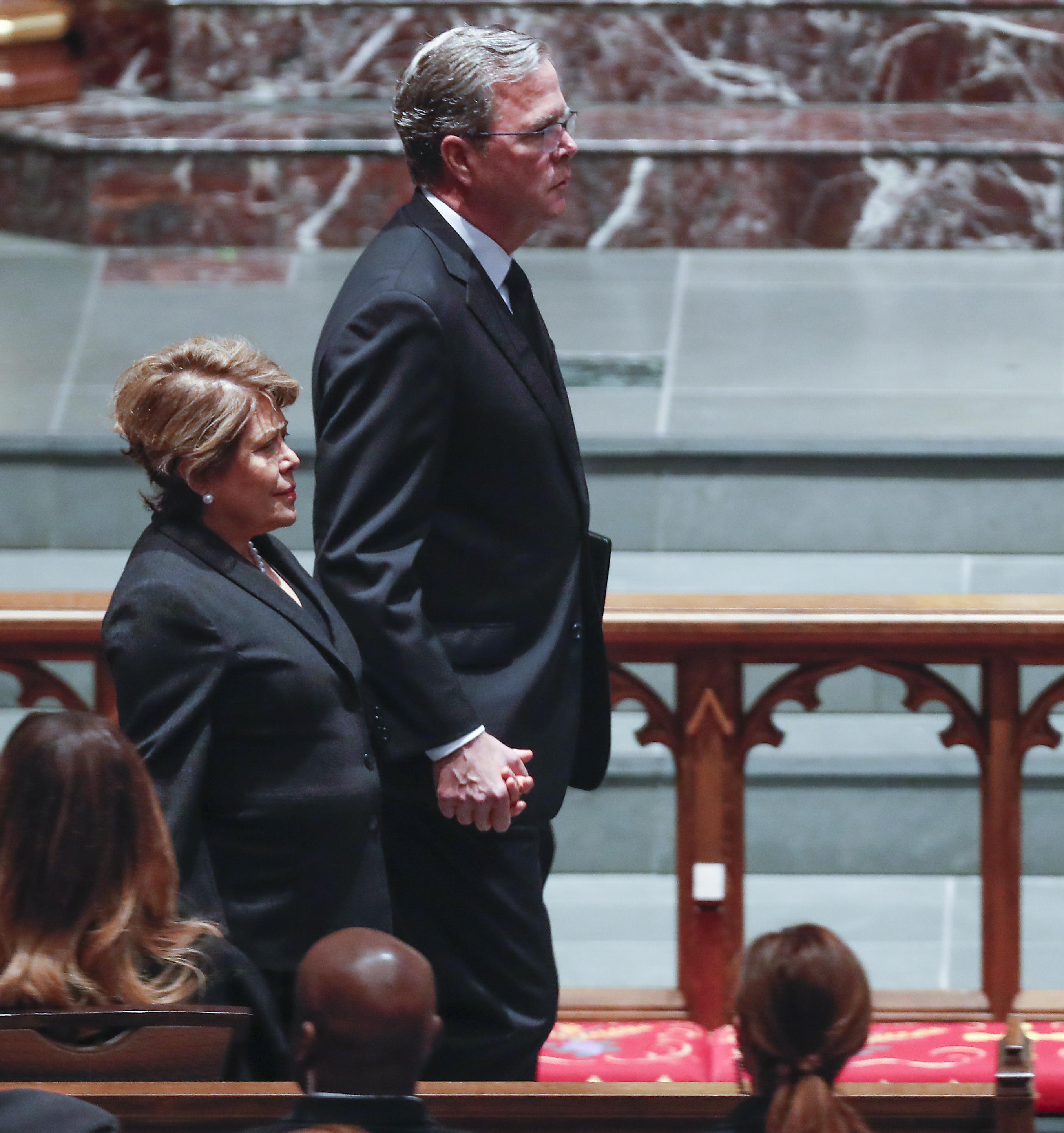 Former President George HW Bush hospitalized in ICU