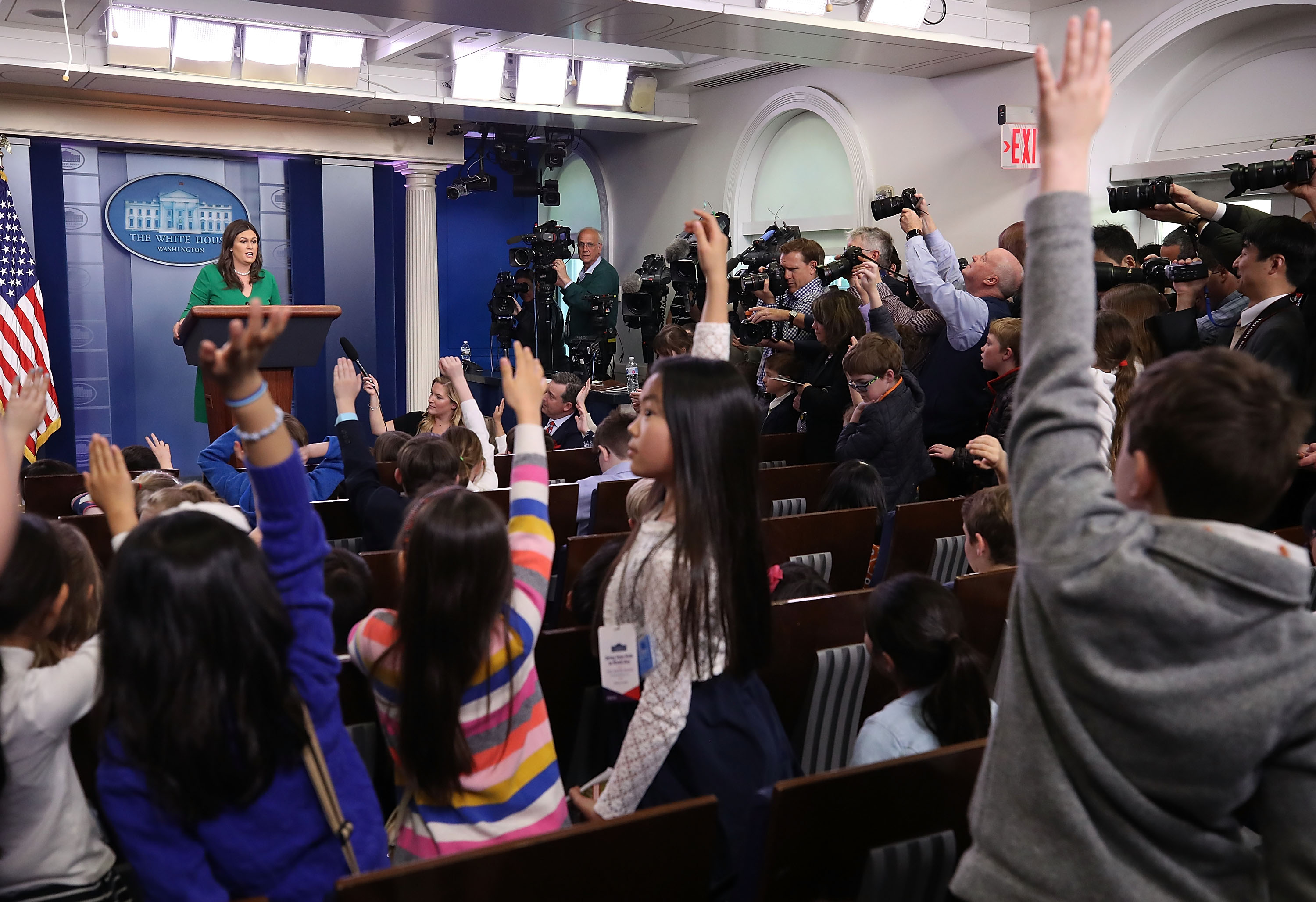 White House takes questions at Take Your Kid to Work Day