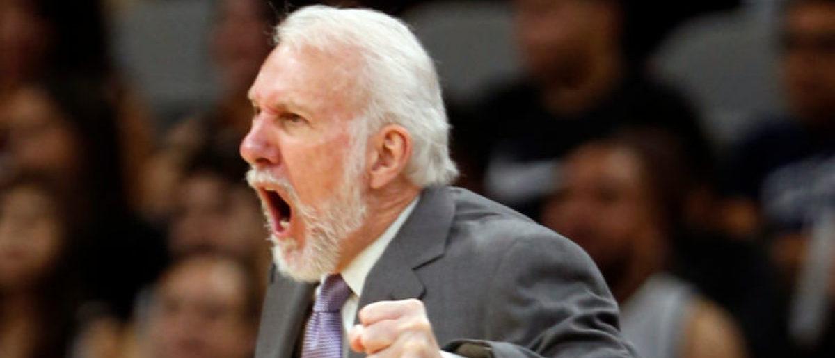 Spurs Coach Gregg Popovich Losing Fans For Anti-Trump