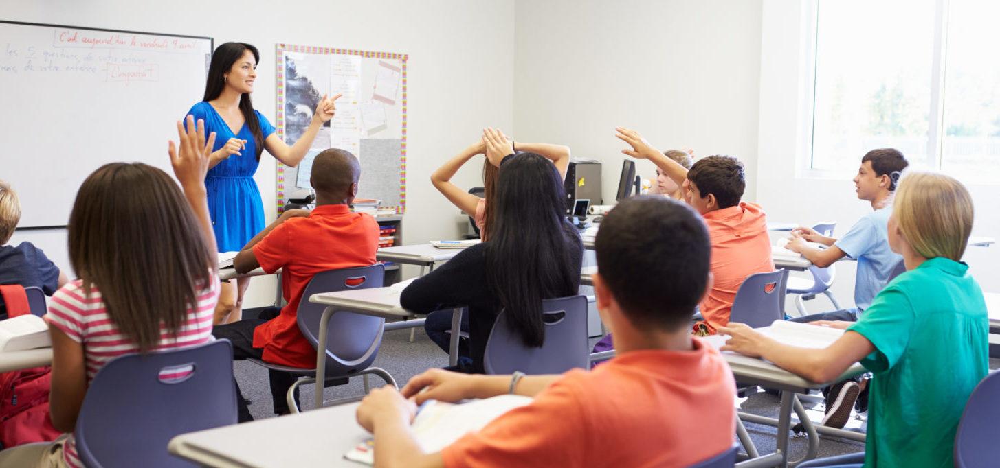 High_School_Class (Shutterstock/ Monkey Business Images) | AP History Book Calls Christians Racists