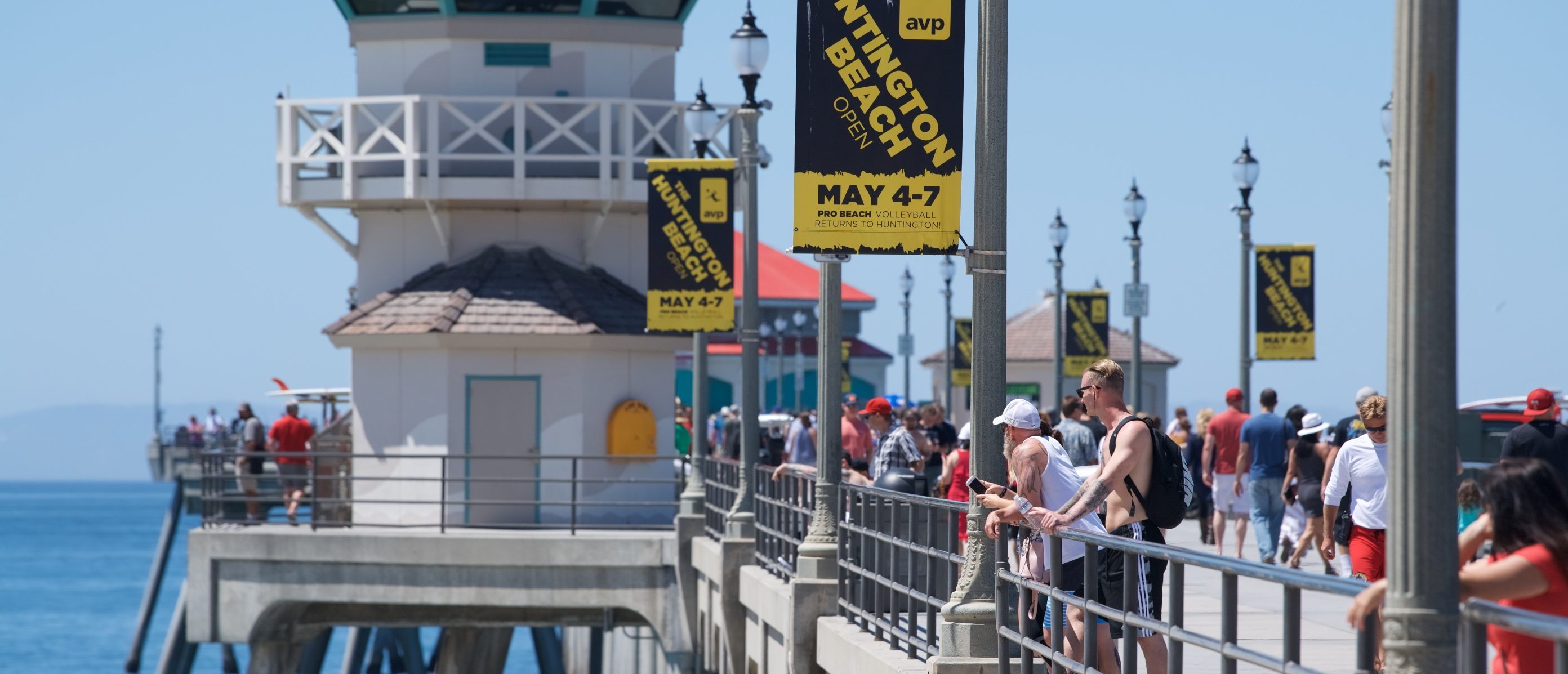 Environmental reaction from the aerial Flyover to #ProtectOurCare on April 30, 2017 in Huntington Beach, California. (Photo by Earl Gibson III/Getty Images for MoveOn.org)