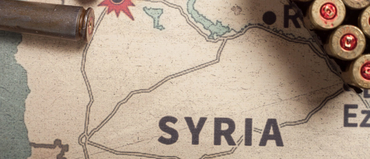 Democrats, establishment Republicans and members of the mainstream media seemed to be working off the same talking points this past weekend, as they all have used the same phrase in their tweets about Syria. (Photo: Shutterstock/Szymon Kaczmarczyk)