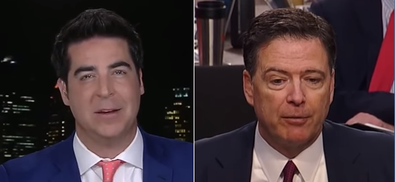 Jesse Watters James Comey (screengrabs)