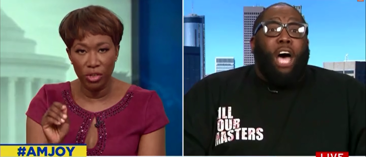 Joy Reid Asks Rapper 'Killer Mike' If Black People Can Carry Guns Without Risking Their Lives - AM Joy 4-15-18