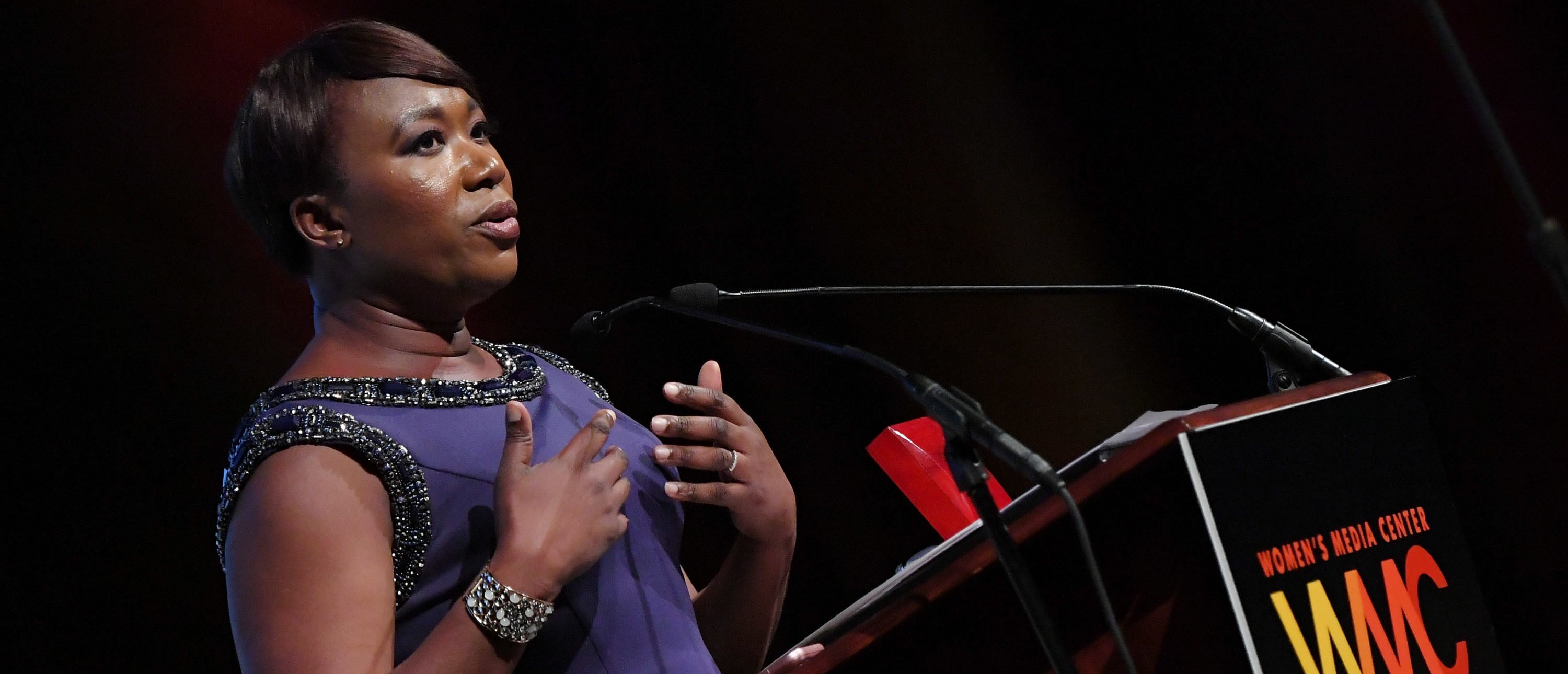 Correspondent and winner of the WMC Carol Jenkins Visible and Powerful Media Award, Joy Reid speaks onstage at the Women's Media Center 2016 Women's Media awards on September 29, 2016 in New York City. (Photo by Mike Coppola/Getty Images for The Women's Media Center)