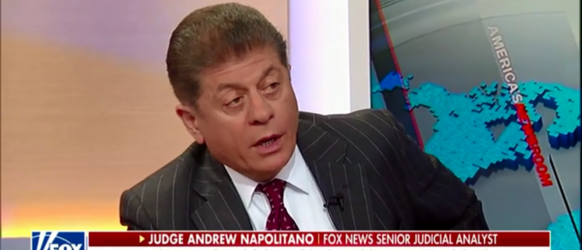Judge Andrew Napolitano Breaks Down Whether James Comey Broke The Law With Memo Leak - America's Newsroom 4-23-18