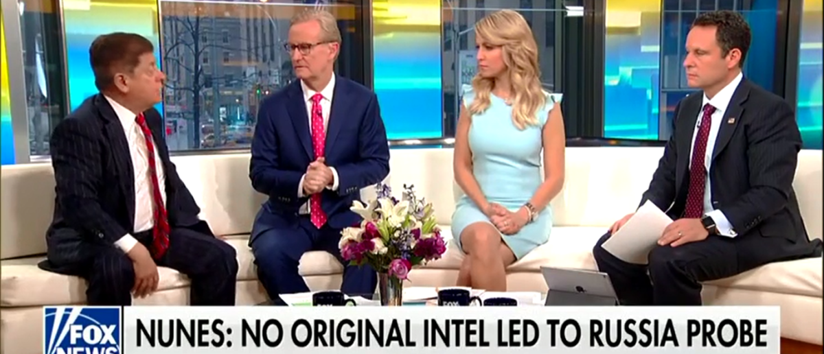 Judge Napolitano Says There Is 'No Question' Democrats Tried To Frame President Trump - Fox & Friends 4-24-18 (Screenshot/Fox News)