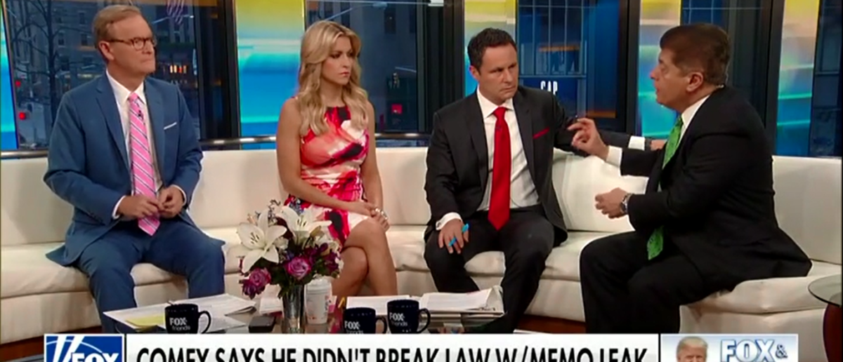 Judge Napolitano Thinks He May Have 'Jumped The Gun' With Comey Accusations - Fox & Friends 4-26-18