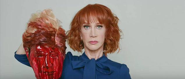Kathy Griffin New York Daily News Youtube screenshot