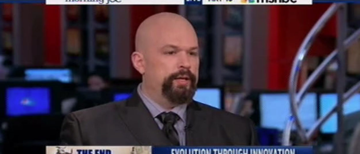 Kevin Williamson MSNBC National Review Youtube screenshot