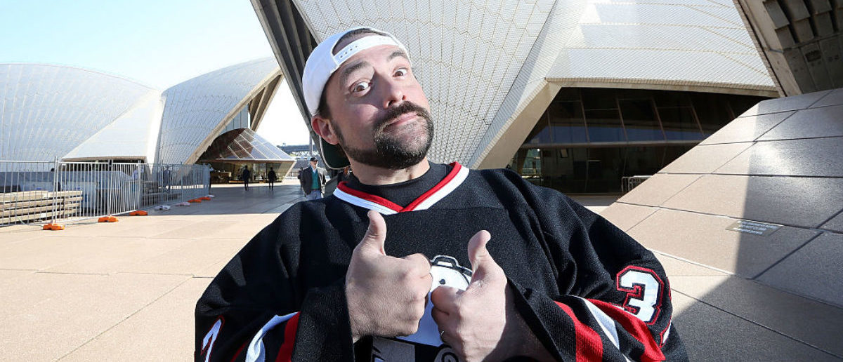 SYDNEY, AUSTRALIA - SEPTEMBER 18: Kevin Smith (aka Silent Bob of Jay and Silent Bob) during a media call at Sydney Opera House on September 18, 2015 in Sydney, Australia. (Photo by Sarah Keayes/Getty Images)