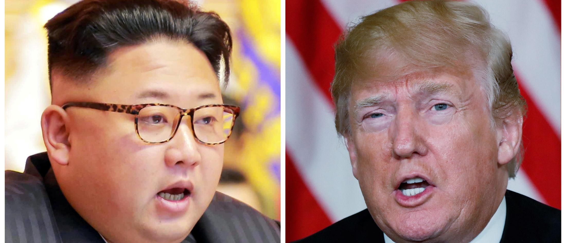 Kim Jong Un Donald Trump Reuters e