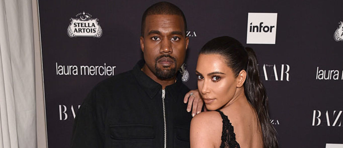 NEW YORK, NY - SEPTEMBER 09: Kanye West and Kim Kardashian West attend Harper's Bazaar's celebration of 'ICONS By Carine Roitfeld' presented by Infor, Laura Mercier, and Stella Artois at The Plaza Hotel on September 9, 2016 in New York City. (Photo by Bryan Bedder/Getty Images for Harper's Bazaar)