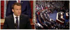 WATCH: What Macron Just Said About The American Military Made The Whole Room Stand Up And Cheer