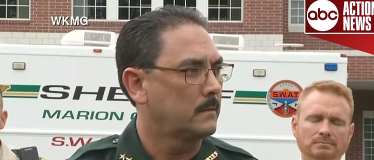 Marion County Sheriff Billy Woods (ABC screengrab)