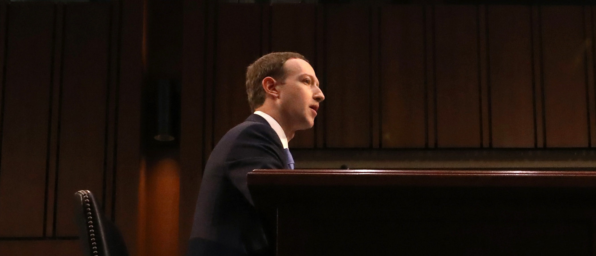 Facebook CEO Mark Zuckerberg testifies before a joint Senate Judiciary and Commerce Committees hearing regarding the company's use and protection of user data, on Capitol Hill in Washington, U.S., April 10, 2018. REUTERS/Leah Millis   Cambridge Analytica Fights Zuck At Court