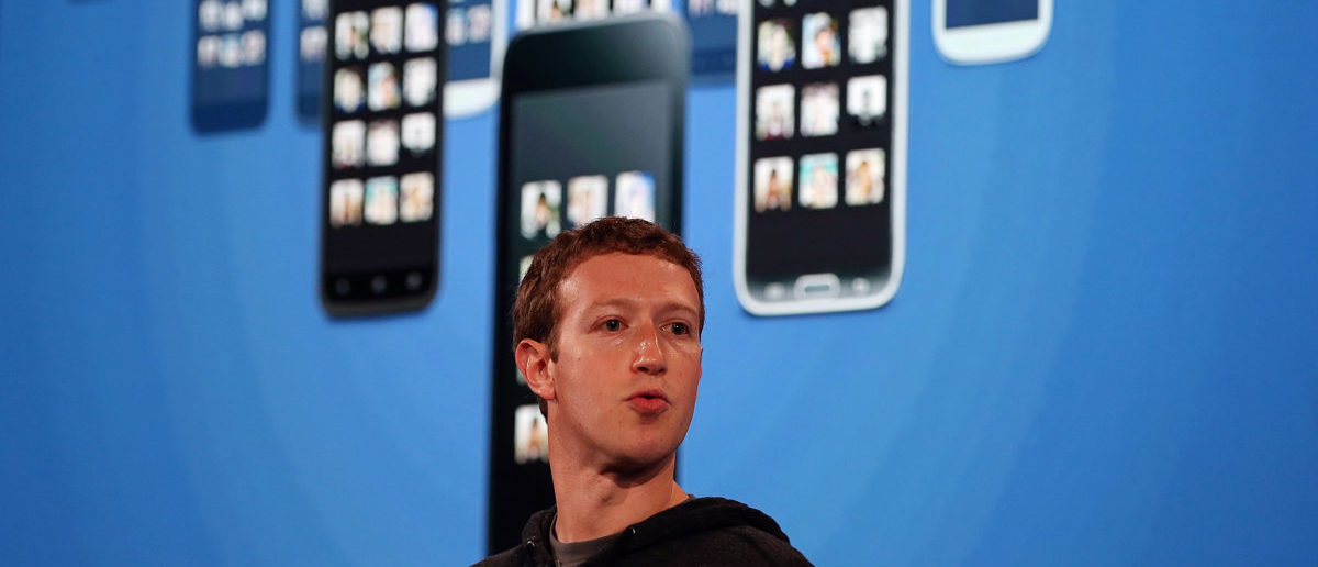 MENLO PARK, CA - APRIL 04: Facebook CEO Mark Zuckerberg speaks during an event at Facebook headquarters on April 4, 2013 in Menlo Park, California. Zuckerberg announced a new product for Android called Facebook Home. (Photo by Justin Sullivan/Getty Images)