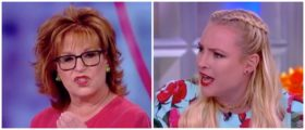 THE CLAWS COME OUT — Joy Behar And Meghan McCain Get Heated After Behar Makes Joke About Melania