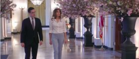 Melania Picks Clinton, Bush 43 China For Macron State Dinner
