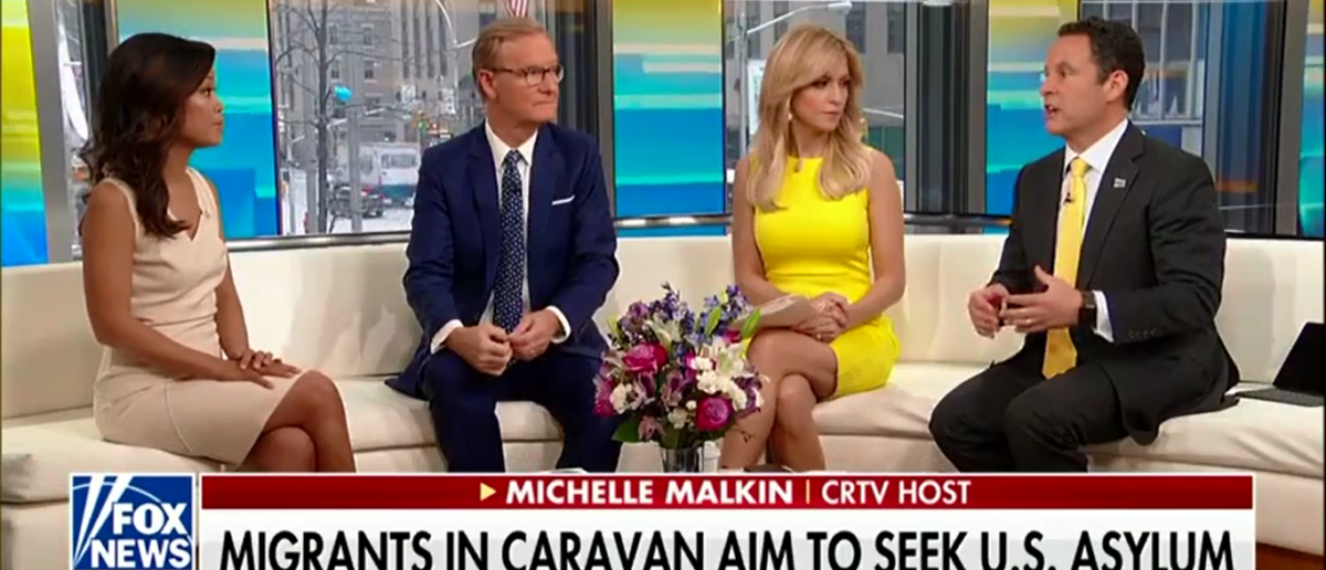 Michelle Malkin Reminds Democrats Of Immigration Realities We Can't Take Everyone - Fox & Friends 4-30-18