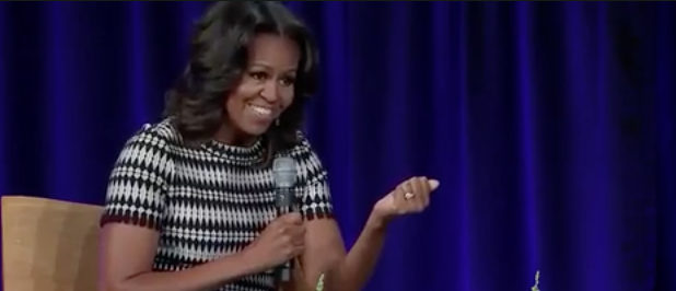 Michelle Obama screenshot