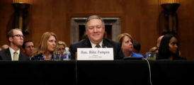 Pompeo Clears Hurdle With Manchin's Support