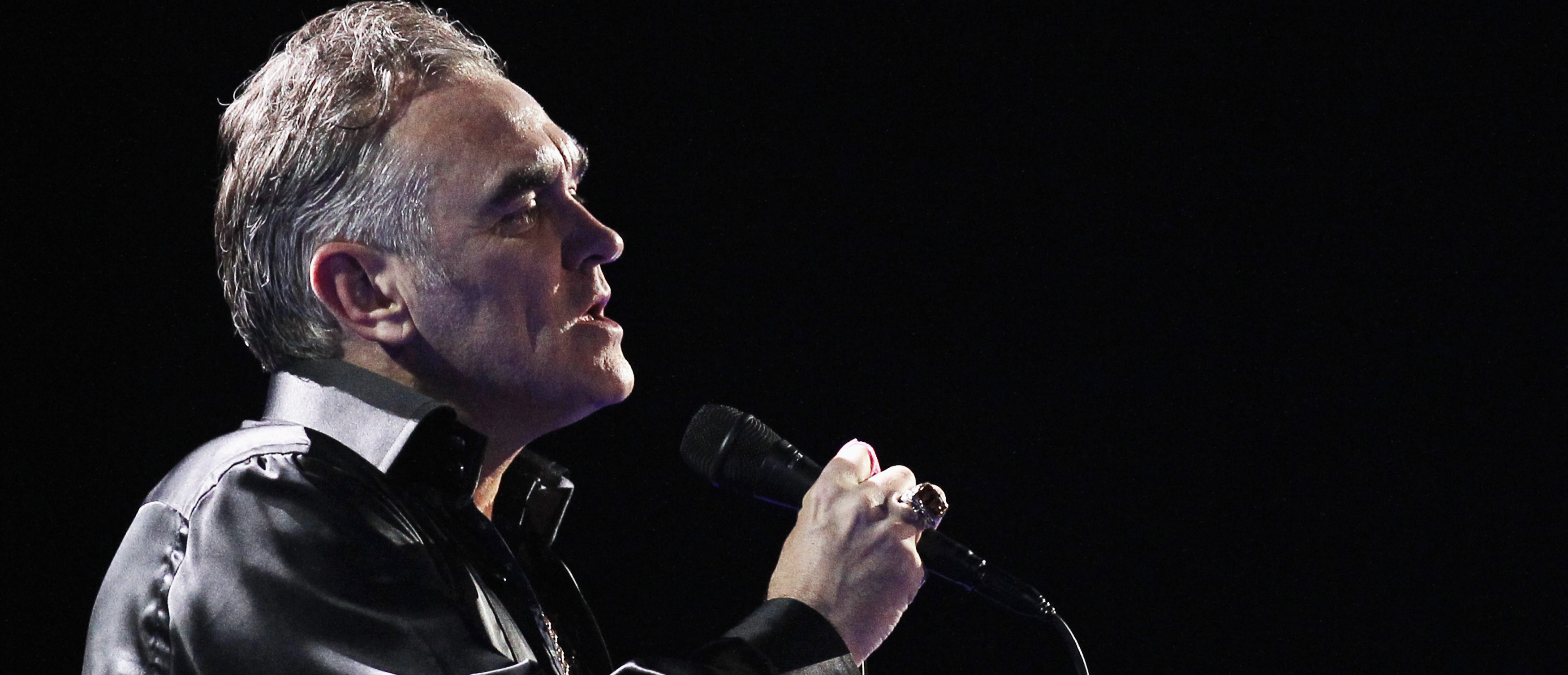 British singer-songwriter Morrissey performs during the International Song Festival in Vina del Mar city, about 121 km (75 miles) northwest of Santiago, Chile, February 24, 2012. REUTERS/Eliseo Fernandez
