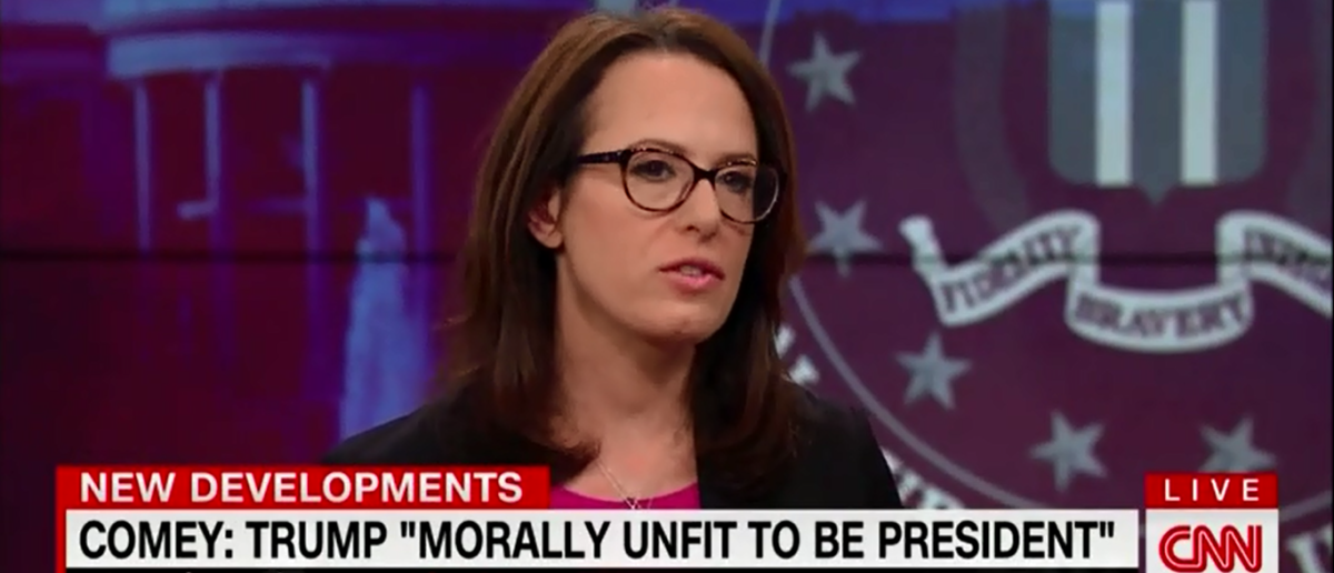 NYT's Maggie Haberman Thinks James Comey Interview Was A Dud - CNN's New Day 4-16-18 (Screenshot/CNN)