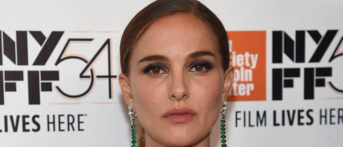 """NEW YORK, NY - OCTOBER 13: Natalie Portman attends the 54th New York Film Festival """"Jackie"""" screening intro and Q&A at Alice Tully Hall, Lincoln Center on October 13, 2016 in New York City. (Photo by Jamie McCarthy/Getty Images)"""