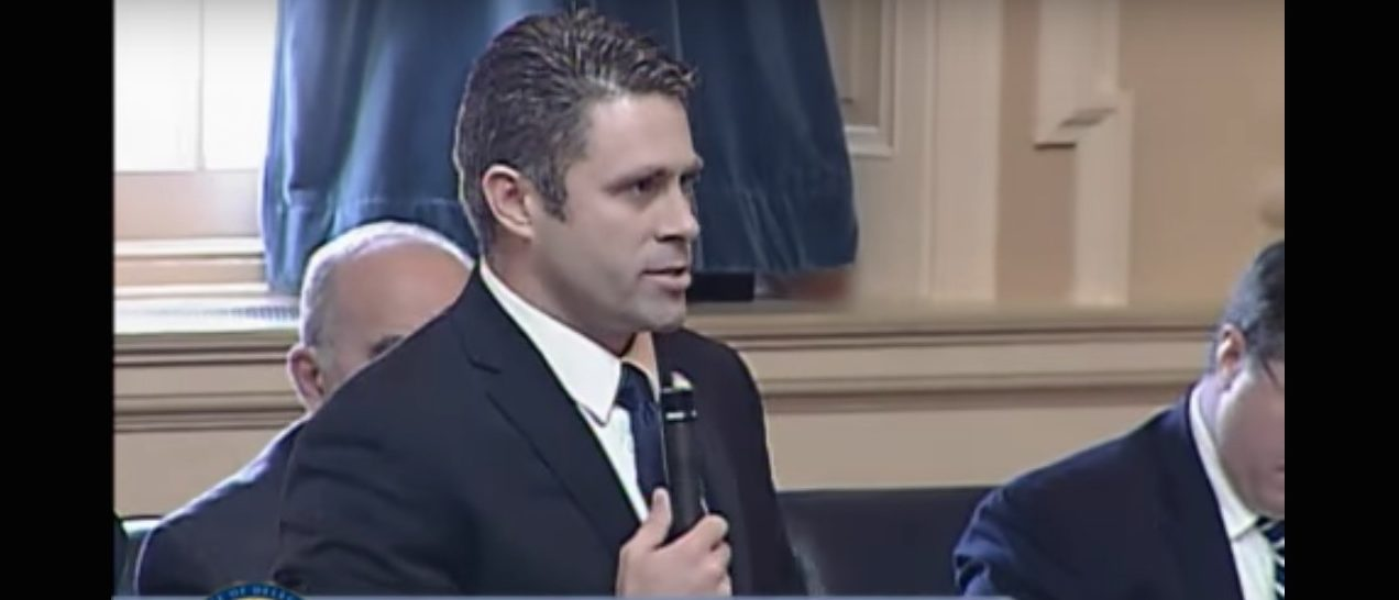Nicholas Freitas, Virginia Senate race (Photo: Screenshot/YouTube)
