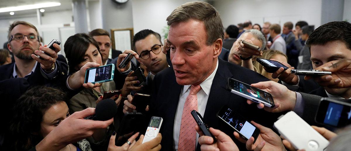 Sen. Mark Warner Russia REUTERS/Aaron P. Bernstein