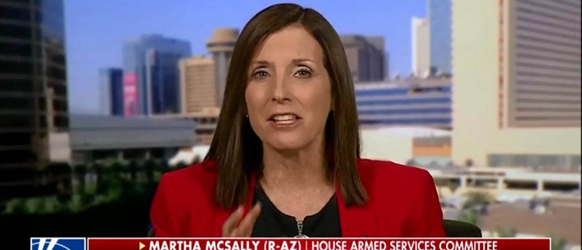 Republican Rep. McSally Speaks Truth About National Guard Deployment We Can't Afford Not To Do It - America's Newsroom 4-6-18 (Screenshot/Fox News)